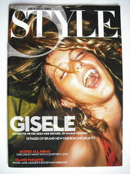 <!--2009-09-27-->Style magazine - Gisele Bundchen cover (27 September 2009)
