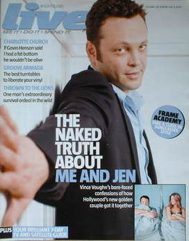 Live magazine - Vince Vaughn cover (9 July 2006)