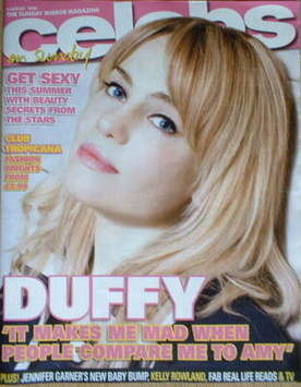 <!--2008-08-03-->Celebs magazine - Duffy cover (3 August 2008)