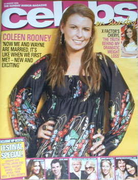 <!--2008-08-24-->Celebs magazine - Coleen Rooney cover (24 August 2008)