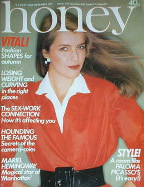 <!--1979-09-->Honey magazine - September 1979