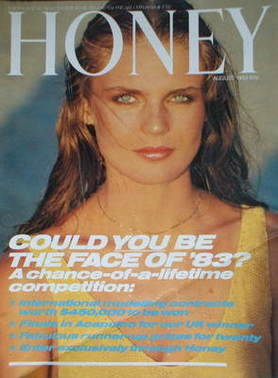 <!--1983-08-->Honey magazine - August 1983