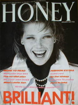 Honey magazine - January 1984