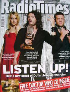<!--2007-01-13-->Radio Times magazine - Lauren Laverne, Russell Brand, Derm