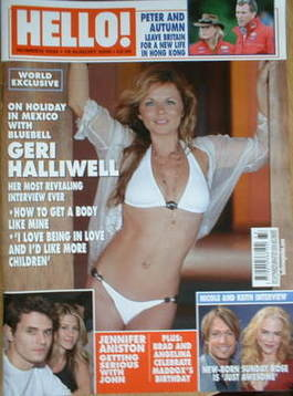 <!--2008-08-19-->Hello! magazine - Geri Halliwell cover (19 August 2008 - I