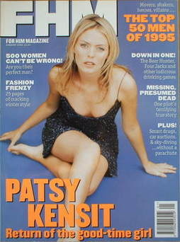 FHM magazine - Patsy Kensit cover (January 1996)