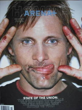 Arena Homme Plus magazine (Autumn/Winter 2002/2003 - Viggo Mortensen cover)