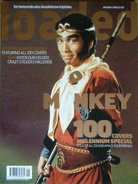 <!--2000-01-->Loaded magazine - Masaaki Sakai Monkey cover (January 2000)