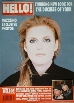 <!--1996-03-30-->Hello! magazine - The Duchess of York cover (30 March 1996 - Issue 400)
