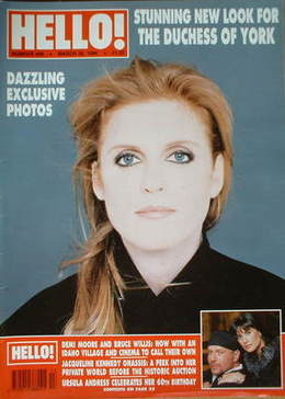 <!--1996-03-30-->Hello! magazine - The Duchess of York cover (30 March 1996
