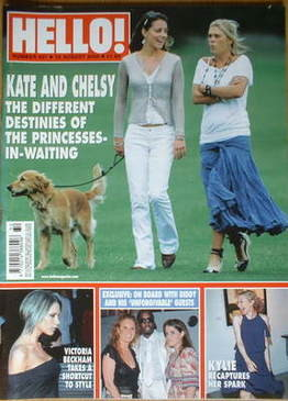 <!--2006-08-15-->Hello! magazine - Kate Middleton and Chelsy Davy cover (15
