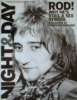 Night & Day magazine - Rod Stewart cover (12 October 2003)