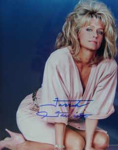 Farrah Fawcett autograph (hand-signed photograph)