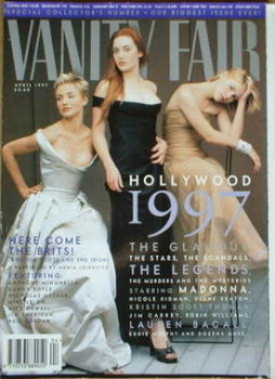 Vanity Fair magazine - Hollywood 1997 cover (April 1997)