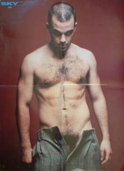 Sky poster - Robbie Williams / Jennifer Aniston