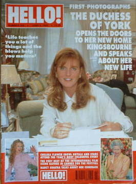 <!--1995-06-03-->Hello! magazine - The Duchess of York cover (3 June 1995 -