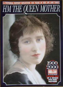Hello! supplement - HM The Queen Mother 1900-2000 (Volume 1)