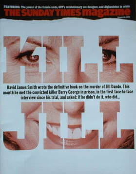 <!--2006-10-29-->The Sunday Times magazine - Jill Dando cover (29 October 2