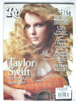 Rolling Stone magazine - Taylor Swift cover (5 March 2009)