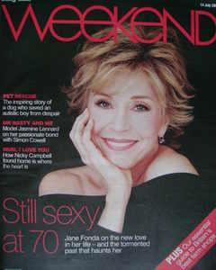Weekend magazine - Jane Fonda cover (14 July 2007)