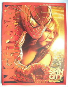 Night & Day magazine - Spider-Man 2 cover (20 June 2004)