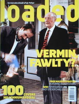 <!--2000-01-->Loaded magazine - Basil Fawlty and the Major cover (January 2