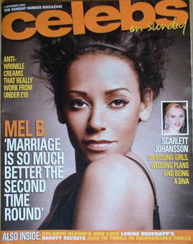 <!--2008-09-07-->Celebs magazine - Mel B cover (7 September 2008)