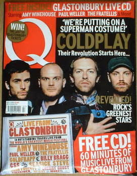 <!--2008-07-->Q magazine - Coldplay cover (July 2008)