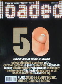 <!--1998-06-->Loaded magazine - 50th Issue (June 1998)
