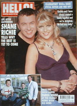 <!--2006-01-12-->Hello! magazine - Shane Richie cover (12 January 2006 - Is