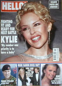 <!--2007-10-30-->Hello! magazine - Kylie Minogue cover (30 October 2007 - I