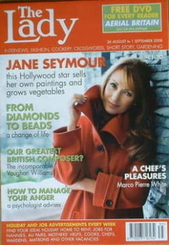 The Lady magazine (26 August - 1 September 2008 - Jane Seymour cover)