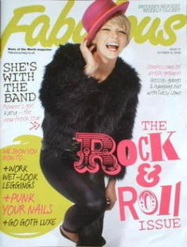 Fabulous magazine - Katia Ivanova cover (12 October 2008)