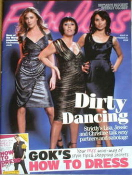 Fabulous magazine - Lisa Snowdon, Jessie Wallace and Christine Bleakley cover (21 September 2008)