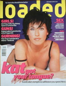 <!--2000-12-->Loaded magazine - Jessie Wallace cover (December 2000)