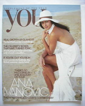 <!--2009-06-14-->You magazine - Ana Ivanovic cover (14 June 2009)