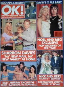 OK! magazine - Sharron Davies cover (10 September 1999 - Issue 178)
