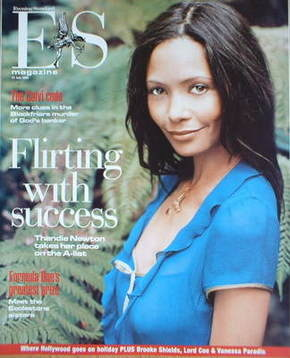 <!--2005-07-22-->Evening Standard magazine - Thandie Newton cover (22 July