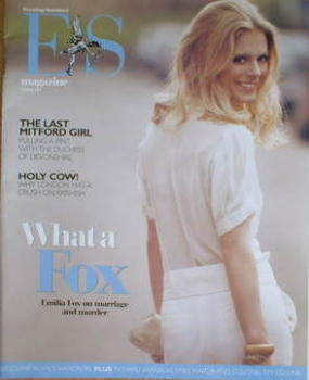 <!--2007-03-09-->Evening Standard magazine - Emilia Fox cover (9 March 2007)