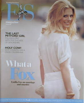 <!--2007-03-09-->Evening Standard magazine - Emilia Fox cover (9 March 2007