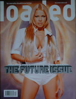 <!--1999-12-->Loaded magazine - Melinda Messenger cover (December 1999)
