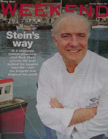 Weekend magazine - Rick Stein cover (30 July 2005)