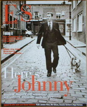 <!--2004-04-08-->Evening Standard magazine - Johnny Vaughan cover (8 April 2004)