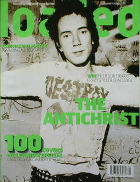 <!--2000-01-->Loaded magazine - Johnny Rotten cover (January 2000)