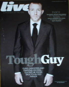Live magazine - Guy Ritchie cover (3 August 2008)