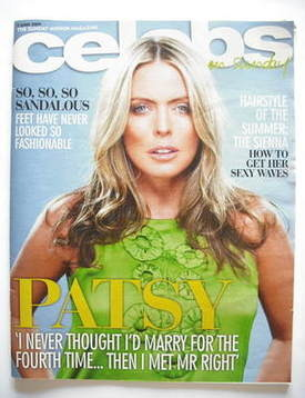 <!--2009-06-07-->Celebs magazine - Patsy Kensit cover (7 June 2009)