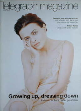 <!--2003-05-03-->Telegraph magazine - Helena Bonham Carter cover (3 May 200