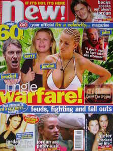 New magazine - 16 February 2004 - I'm A Celebrity Get Me Out Of Here! cover
