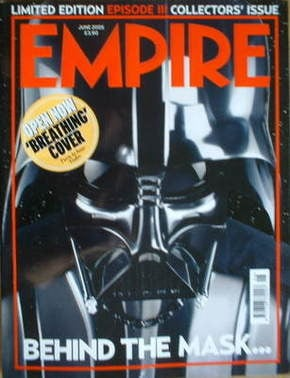 <!--2005-06-->Empire magazine - Darth Vader breathing cover (June 2005 - Is