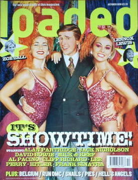 <!--1998-10-->Loaded magazine - Alan Partridge cover (October 1998)